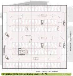 planos de estacionamientos con medidas - Buscar con Google