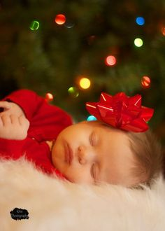 There is nothing like a baby at Christmas!