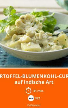 Kartoffel-Blumenkohl-Curry - auf indische Art - smarter - Kalorien: 322 kcal - Zeit: 35 Min. | eatsmarter.de