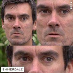 Cain's giving the **STARE** - RUUUNNN! #NeverCrossADingle #Emmerdale