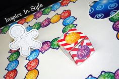 Create your own winter board games this season!  #inspiredinstyle #teachers #classroomactivities #games #diy