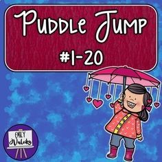 Happy Spring, wonderful teachers! Looking for a fun way for your little ones to practice counting? Please enjoy this fun get-up-and-move puddle jump kit for your students practicing their numbers 1-20! Great for kinesthetic learners especially, this is a wonderful way to remember