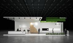 * Electrolux * exhibition stand * on Behance
