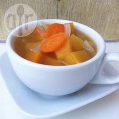 Kürbissuppe vegan aus dem Slow Cooker @ de.allrecipes.com