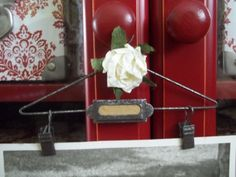 Vintage Inspired Mini Picture Hanger by SimplyFrenchMarket on Etsy, $6.00