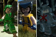 Gaming: New images from LEGO Marvel Super Heroes show off some familiar faces from The Wolverine. [Robot6]