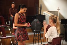 Let's kick off this Valentine's Day with #brittana's engagement! #tweetheart #glee