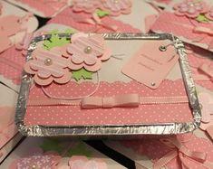 Lembrancinha marmitinha rosa