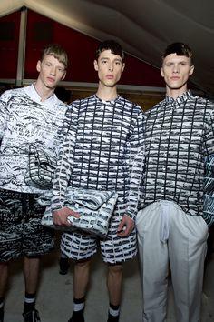 KENZO S/S 2014 RTW Menswear