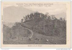 "Indonésie - CPA INDONESIE INDONESIA JAVA Gezicht v. af ,, het Bankje"" Set Sanatorium TOSARI 1904"