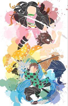 Zenitsu Form Kimetsu No Yaibu (Different expression) Manga Anime, Fanarts Anime, Anime Demon, Otaku Anime, Anime Characters, Anime Art, Cute Anime Wallpaper, Hero Wallpaper, Cool Anime Wallpapers