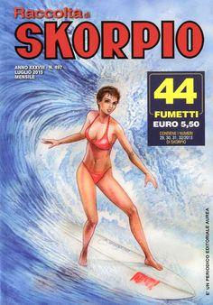 Fumetti EDITORIALE AUREA, Collana SKORPIO RACCOLTA n°497 Luglio 2015