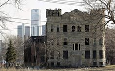 Haunting images of Detroit's abandoned buildings - National