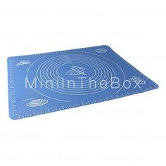 [EUR € 18.39]  - grande taille de gel de silice de cuisson tapis tapis avec des marques