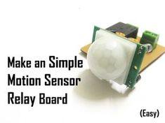 Make an Simple Motion Sensor Board (PIR)