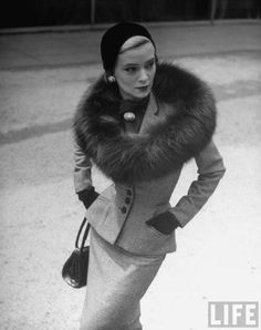 Vintage fashion--for those days you are just running errands