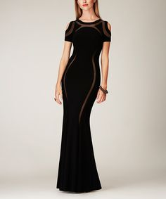 Mignon Black Cutout Bodycon Gown