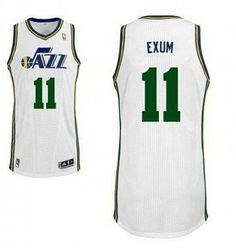 NBA Utah Jazz 11 Dante Exum New Revolution 30 Swingman White Jersey. b256d5014