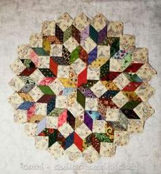 Scrappy Star by quilt obsession