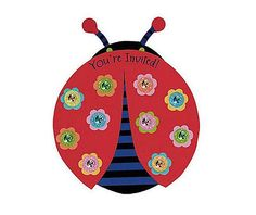 Ladybug Invitations - Party City