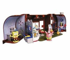 Simba Smoby Spongebob Krusty Krab Playset by Simba Smoby @ niftywarehouse.com
