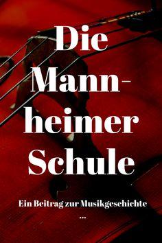 Für alle Musikinteressierten - die Mannheimer Schule, mit der Beginn der Wiener Klassik und einer der prägendsten Einflüsse auf zahlreiche klassische Komponisten.