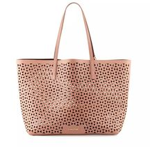 Pin for Later: 12 Stylish Everyday Bags That Can Also Hold Your Laptop  Elizabeth and James Daily Perforated Leather Tote Bag ($445)