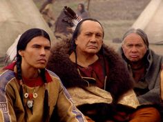 David Midthunder, Russell Means, & friend