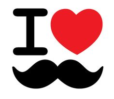 Image uploaded by kռiցዠէ . Find images and videos about heart, mustache and moustache on We Heart It - the app to get lost in what you love. Mark Spitz, Movember, Beard No Mustache, Mustache Party, Hipsters, Fathers Day, Fun Facts, Stencils, Clip Art