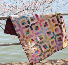 Stained Glass in SIMPLE QUILTS & SEWING (Spring 2013) – Ivory Spring