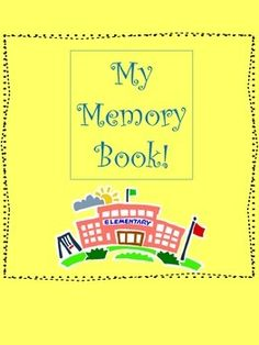 Students have a blast putting together their favorite memories from the year.  Parents love these books too!  Grades 1-5. $
