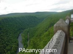 Pennsylvania Grand Canyon, Tioga County, PA This is where my people are     It makes Karoden Homesick
