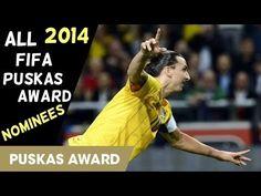 All Fifa Puskas award 2014 Nominees Goals HD - YouTube