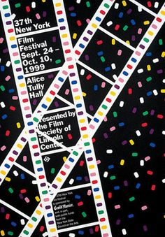 New York Film Festival poster - 1999 - Movie, Animation Studio, Filmmaking Trailer Festival Cinema, Festival Logo, Cannes Film Festival 2015, Festival Posters, New York, Locarno Film Festival, Film Poster Design, Short Film Festivals, Illustrations And Posters