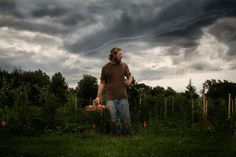 William Kramer Photography, harvest before the storm, farmer, crops, crazy clouds
