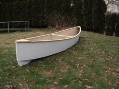 4.5 hour plywood canoe, by Storer Boat Plans