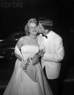 Singer Rosemary Clooney( George Clooney's Aunt) with Her Brother ( and George's Father)  Nick Clooney  July 16, 1953