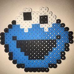 Cookie Monster perler beads by _dafne_