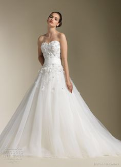 Justin Alexander Wedding Dresses Spring 2012 - Liked it, like heart top/not 100% plain or overly done up.