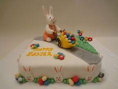69 velikonoční koláč Easter Bunny, Easter Cake, Cupcake Cakes, Cupcakes, Holiday Cakes, Cake Shop, Cake Decorating, Desserts, Food