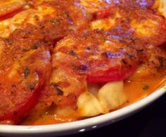 Rezept Tomate-Mozzarella-Auflauf mit Tortellini von Flör91 - Rezept der Kategorie sonstige Hauptgerichte