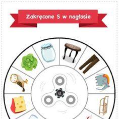 Pusta karta do spinnera - Printoteka.pl Speech Therapy, Symbols, Letters, Games, School, Gaming, Speech Pathology, Speech Language Therapy, Speech Language Pathology