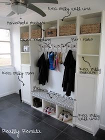 Genial Really Renata: DIY Mostly IKEA Mudroom Mudroom Laundry Room, Laundry Storage ,