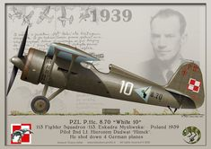 Poland Facts, Air Planes, Alternate History, Fighter Aircraft, Aviators, Guy Stuff, Dieselpunk, World War Two, Wwii