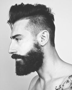 It's all about the hair<3 must be hairy. mustache or beard and either long hair or part shaved<3