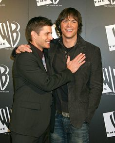 Jensen and Jared so cute! :b Haha