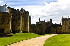 Alnwick Castle, England  - Explore the World with Travel Nerd Nici, one Country at a Time. http://TravelNerdNici.com