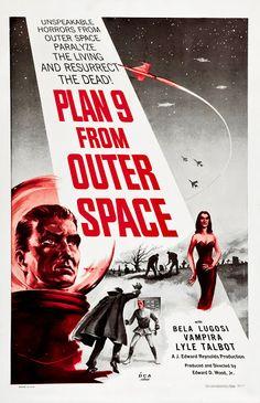 Movie invasion saucer of the men
