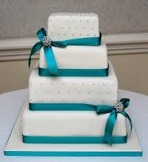 teal wedding cakes - Google Search