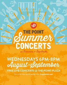 The Point Summer Concerts: August 12, 2015 http://www.southbaybyjackie.com/point-summer-concerts/